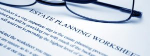 Estate Planning Worksheet Bernhardt Swisstrust Appraisal Portland Oregon