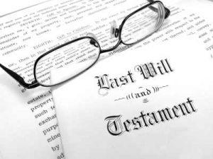 Bernhardt Date of Death Appraisal-- Last Will and Tesimate -Bernhardt Swisstrust Appraisal Portland Oregon